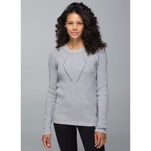 Lululemon The Sweater The Better Heathered Grey